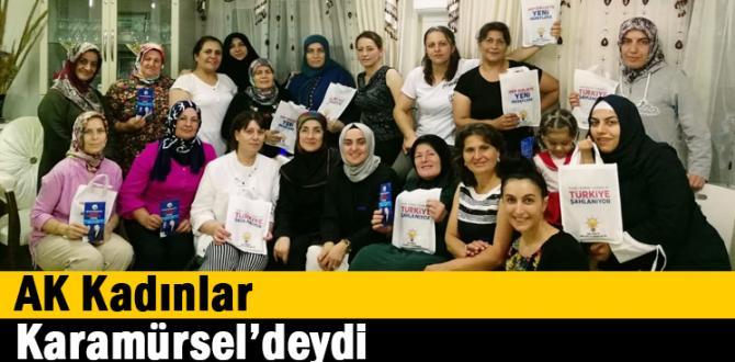 AK Kadınlar Karamürsel'deydi