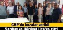 CHP'de manidar ziyaret