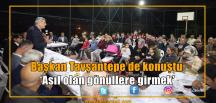 Başkan Karaosmanoğlu: 'Önce millet önce memleket'