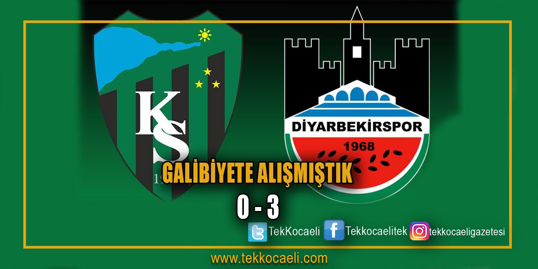 Kocaelispor 3-0 Mağlup Oldu