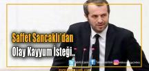 MHP Milletvekili Saffet Sancaklı: TFF'ye Kayyum Atansın
