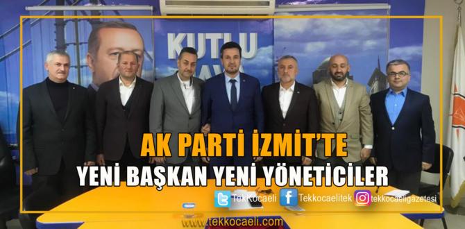 Ak Parti İzmit'te Yeni Yöneticiler Belli Oldu