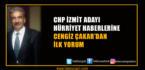 Cengiz Çakar'dan Flaş İzmit Açıklaması