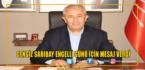 Cengiz Sarıbay'dan Engelli Günü Açıklaması
