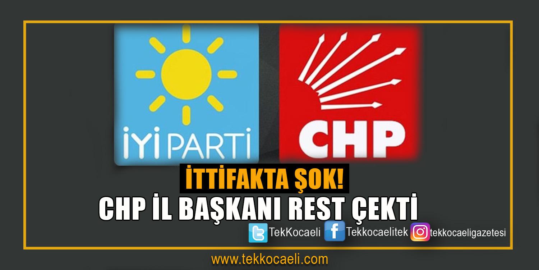 CHP Örgütünde İttifak Krizi
