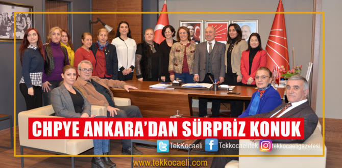 CHP'ye Sürpriz Konuk