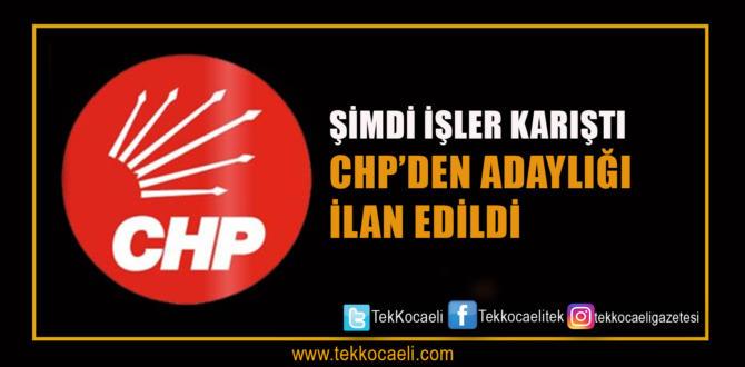 CHP'ye Bomba Aday