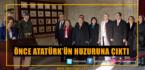 Hürriyet, Önce Atatürk'ün Huzuruna Çıktı