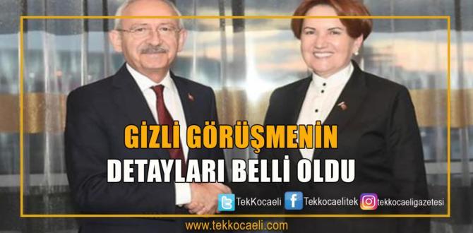 Kılıçdaroğlu Ve Akşener'in Görüşmesinin Detayları Belli Oldu