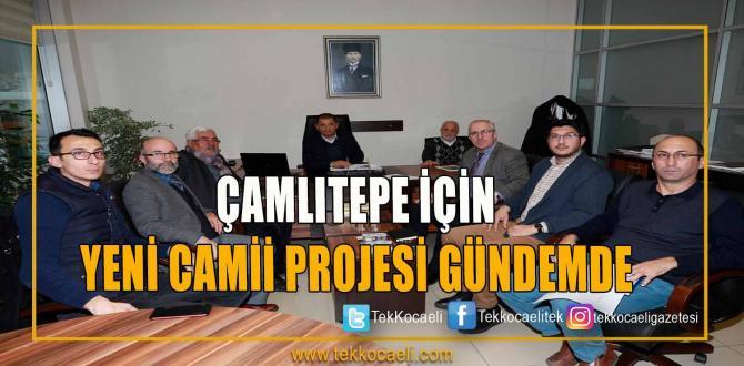 Çamlıtepe İçin Yeni Cami Projesi