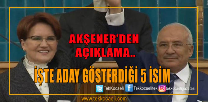 İYİ Parti Genel Başkanı Meral Akşener partisinin grup toplantısında konuştu.