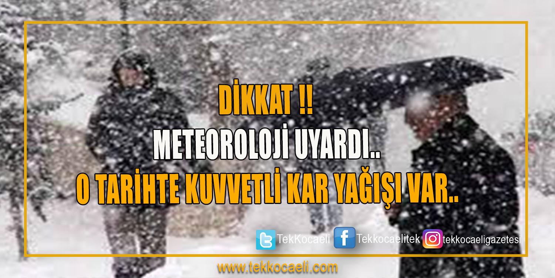 Dikkat Kar Geliyor