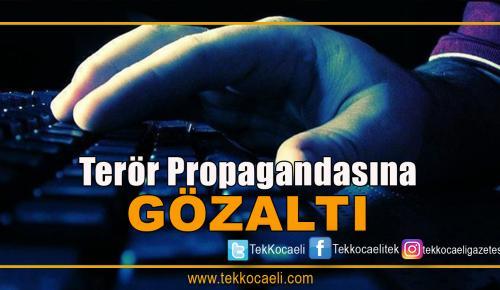 Terör Propagandasına Gözaltı