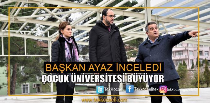 Başiskele Çocuk Üniversitesi Büyüyor