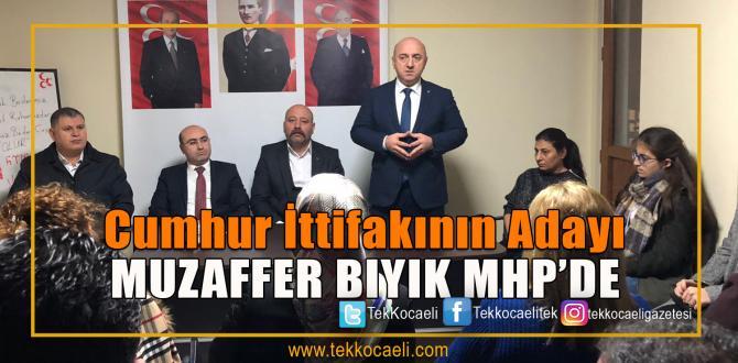 Cumhur İttifakının Adayı Bıyık, MHP'ye Gitti