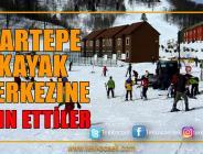 Kayak Merkezine Ziyaretçi Akını