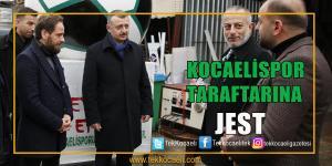 Büyükakın'dan Kocaelispor'a Jest
