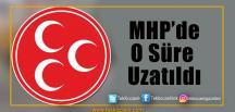 MHP'de Son Dakika Gelişmesi