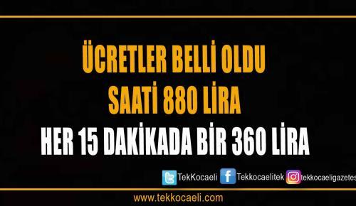 Saati 880 lira