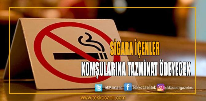 Sigara İçenler, Komşularına Tazminat Ödeyecek