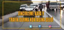 Zincirleme kaza: Trafik Durma Noktasında