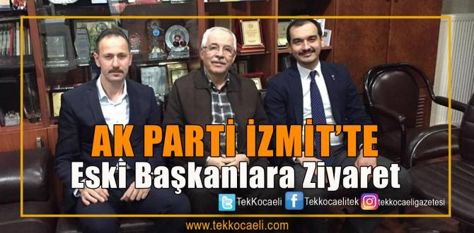 Ak Parti'de Eski Başkanlara Ziyaret
