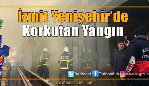 İzmit Yenişehir'de Yangın