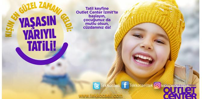 Outlet Center İzmit'te Çocuğunuz Mutlu Olsun