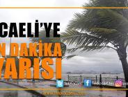 Marmara Bölgesi'ne Uyarı