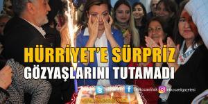 Hürriyet'e Doğum Günü Sürprizi
