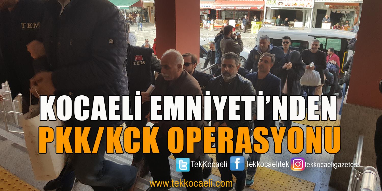HDP'li Yöneticiler Gözaltına Alındı