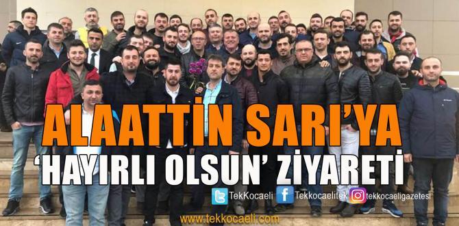 Lastik-iş Genel Başkanı Sarı'ya İşçilerden Ziyaret