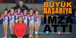 Olimpiyat Yıldızları Cimnastik Kulübü'nden Büyük Başarı