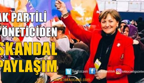 Ak Parti'li Yöneticiden Kılıçdaroğlu'na Hakaret
