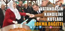 Başkan Hürriyet, Lokma Dağıttı