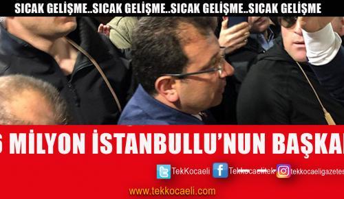 İstanbul'un Başkanı Ekrem İmamoğlu