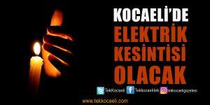 8 İlçede Elektrikler Kesilecek
