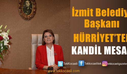 Başkan Hürriyet'in Kandil Mesajı