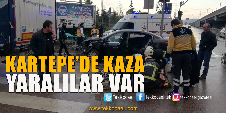 Kartepe'de Kaza