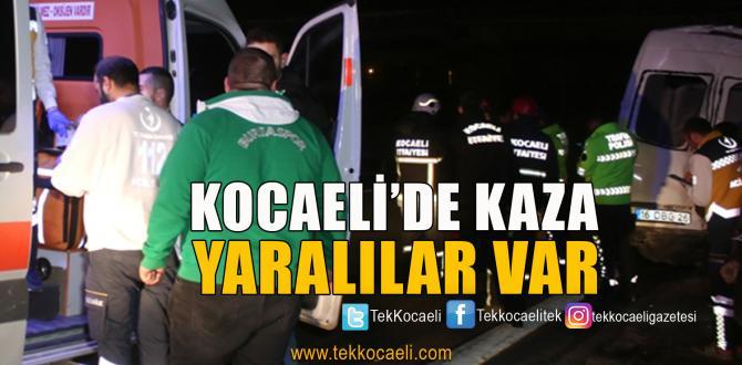 Bursaspor'lu Taraftarları Taşıyan Araç Kaza Yaptı