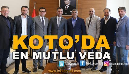 KOTO'dan Adnan Turan'a Mutlu Veda