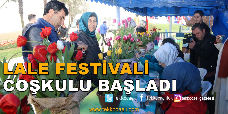 12. Lale Festivali Sekapark'ta Başladı