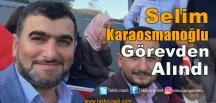 Başiskele'de Karaosmanoğlu Görevden Alındı