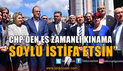 CHP Örgütlerinden Eş Zamanlı Açıklama