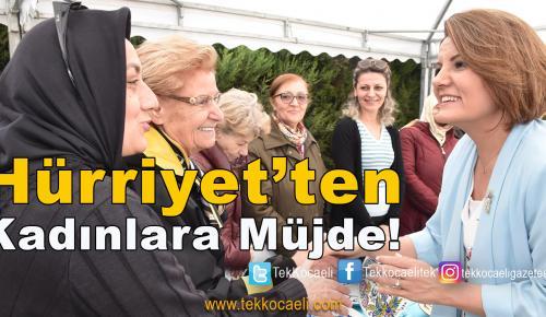 Kursiyerlerle Türkü Söyledi, Müjdeyi Verdi