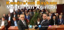 Kandıralı Muhtarlardan Başkan Turan'a Ziyaret