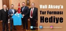 Vali Aksoy'a Cumhurbaşkanlığı Turu Ziyareti