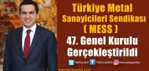 MESS  Yönetim Kurulu Başkanlığı'nı Özgür Burak Akkol Üstlendi