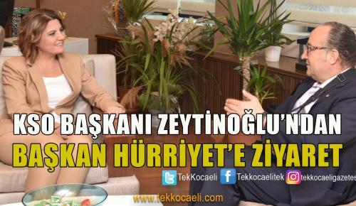 KSO Başkanı Zeytinoğlu'ndan İzmit'e Destek