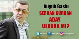 Kocaelispor'da Serhan Gürkan Sürprizi